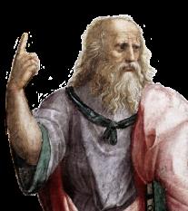 """Triết gia Plato, tác giả của """"The Republic"""", viết khoảng năm 300 trước Thiên Chúa."""