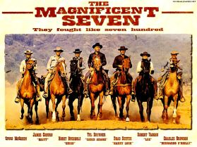 """Phim """"The Magnificent Seven"""", 1960."""