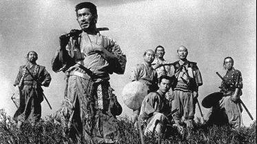 "Phim ""Seven Samurai"", 1954."